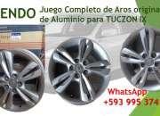 VENDO JUEGO DE AROS -  TUCZON IX