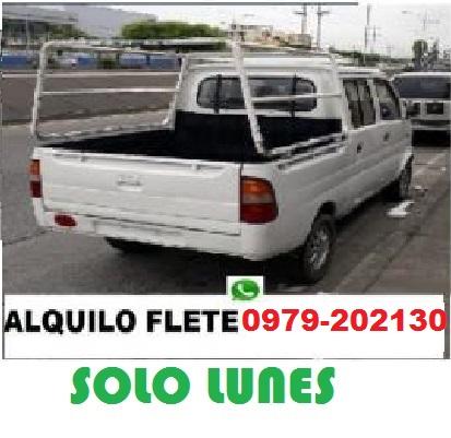 Sofia camioneta flete pequeñas mudanzas solo guayaquil 0979202130