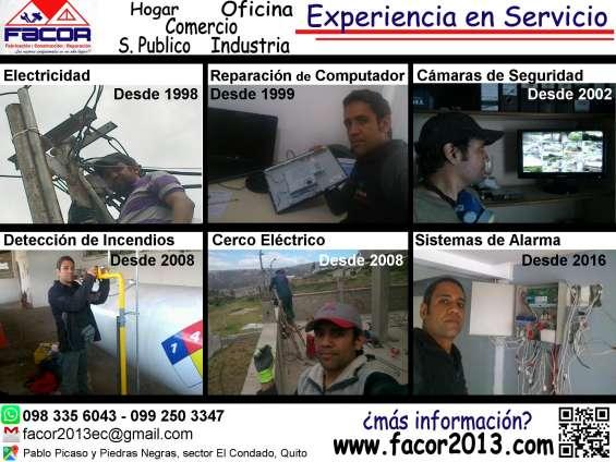 Experiencia en servicio