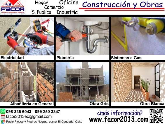 Especialistas en construcción